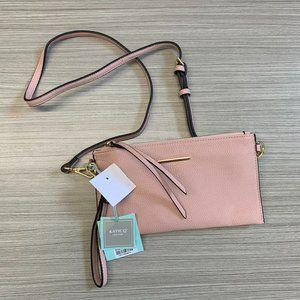 Katie Q New York Crossbody Handbag Purse Blush OS